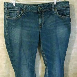 Silver Suki Bootcut Women's jeans denim SZ22/L32
